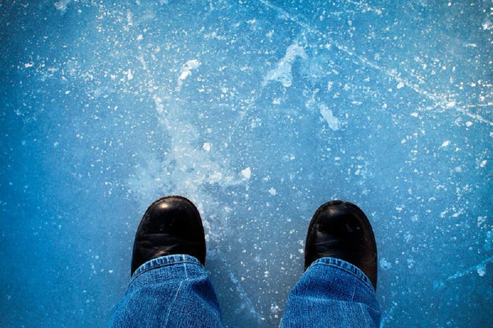 Осторожно, лёд!