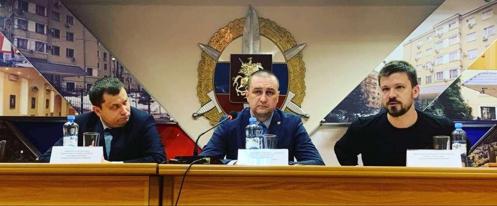 В ГУ МВД России по Московской области прошла рабочая встреча по вопросам взаимодействия и награждение членов отряда